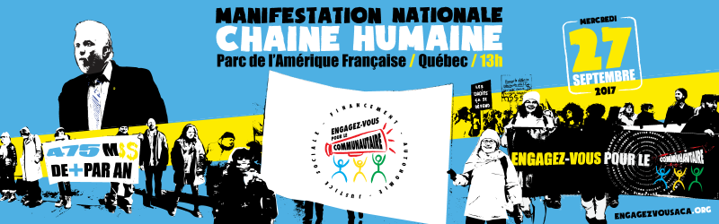 Inscription estrienne au grand rassemblement national du communautaire!