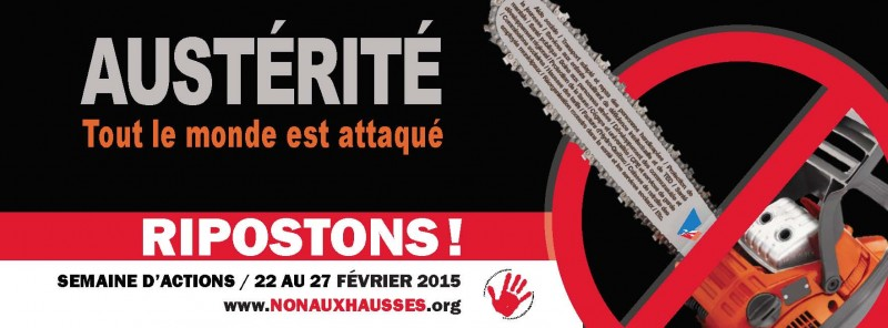 Affiche ripostons !