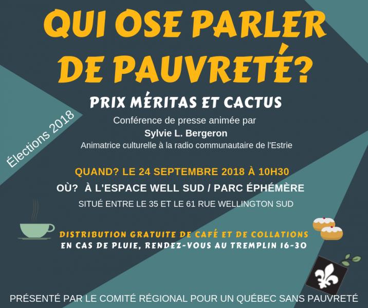 Prix Méritas/Cactus de lutte à la pauvreté