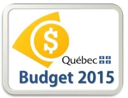 Budget Qc 2015