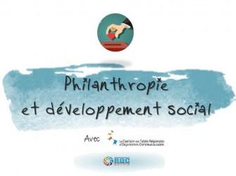 Philantropie et développement social