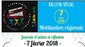 Info-MOB du 17/01/2018 consacré à la mobilisation du 7 février prochain.