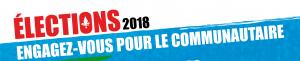 OUTILS en vue des élections provinciales 2018 : Engagez-vous pour le commuanutaire!