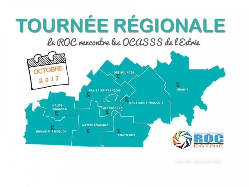Le ROC sera en tournée en octobre 2017!