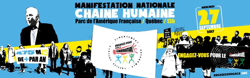 Grande Manif-action nationale