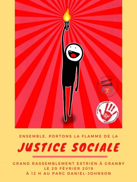 Info-mob spéciale Journée mondiale de la justice sociale