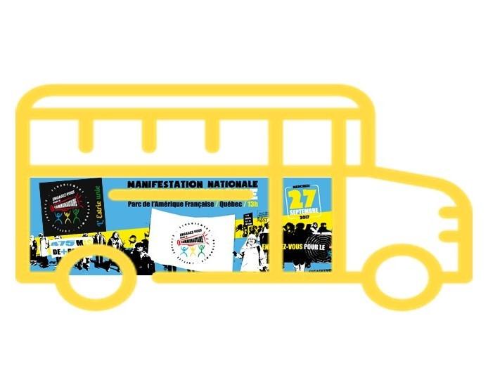 Inscription au transport pour le grand rassemblement national du communautaire!