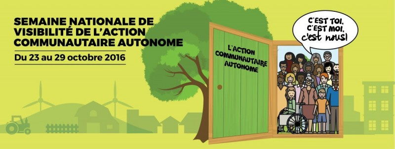 23-29 octobre: célébrons l'action communautaire autonome!