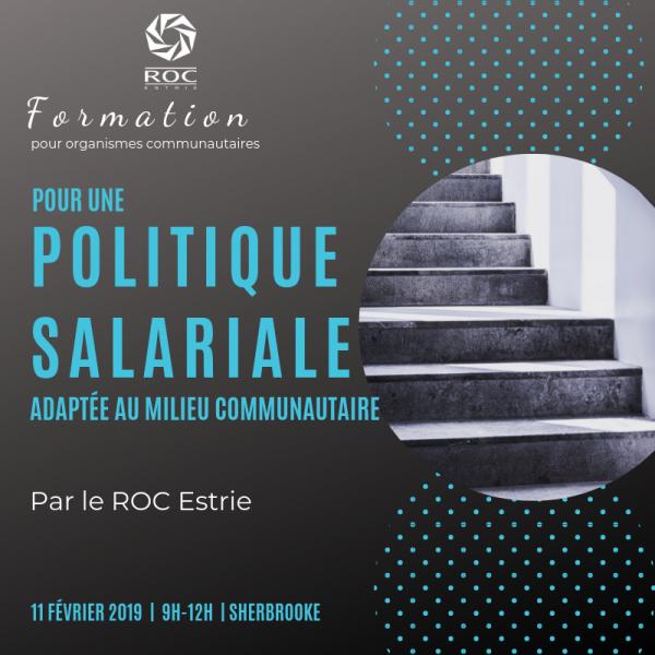 Formation Politique salariale