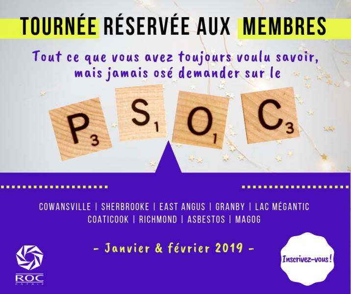 Tournée membres ROC 2019 PSOC