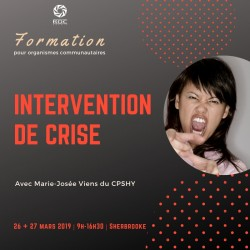 Intervention de crise (suite)