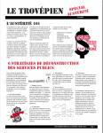 Journal de la TROVEPE sur l'Austérité