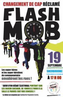 LE FLASH MOB (17h)