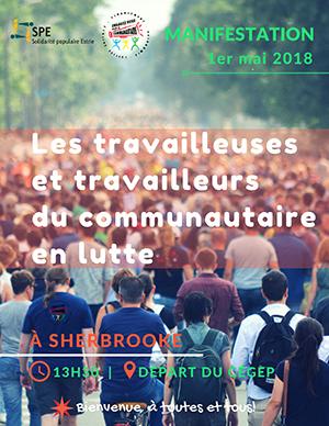 1er mai:les travailleurs et les travailleuses du communautaire en lutte!